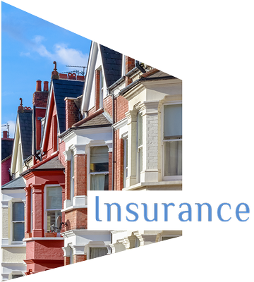Mortgage Advisor in Birmingham and Wolverhampton. Insurance. Colourful British houses.
